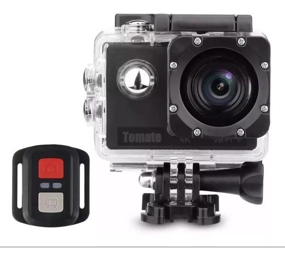 Câmera Ação 4k Wifi Mt1091 + Bateria Extra + Cartão Sd 32gb