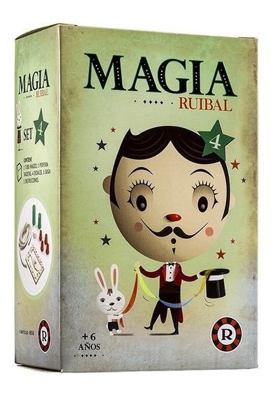 Set De Magia Con 4 Trucos Coleccionables Ruibal