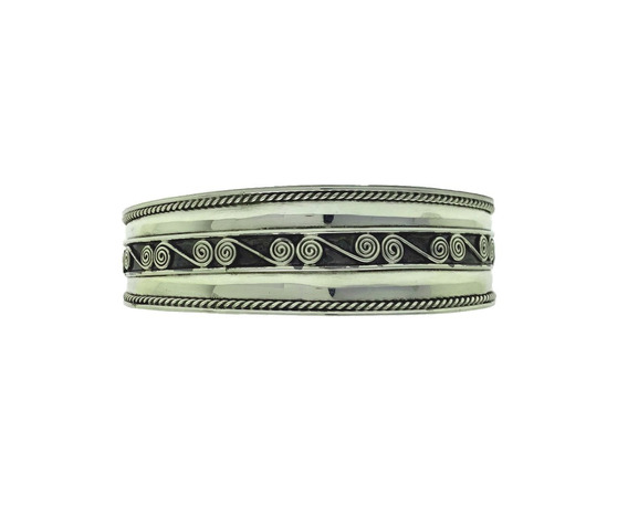 Bracelete De Prata Bali 925