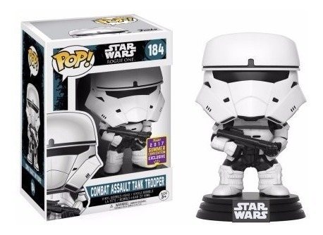 Funko Pop Combat Assault Tank Trooper Sdcc Star Wars