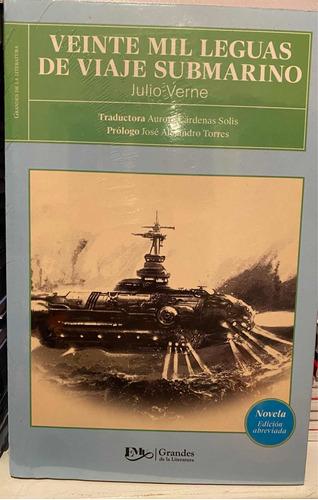 Imagen 1 de 3 de 20 Mil Leguas De Viaje Submarino Julio Verne Envio Gratis