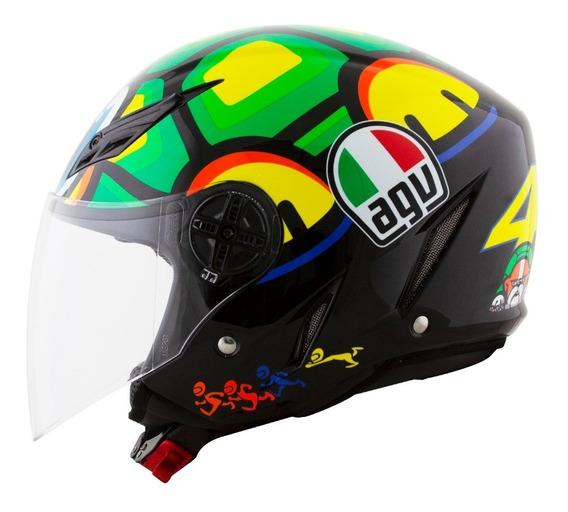 Capacete Agv Valentino Rossi Blade Turtle