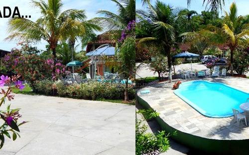 Imagem 1 de 15 de Linda Pousada Com 10 Quartos Em Iguape
