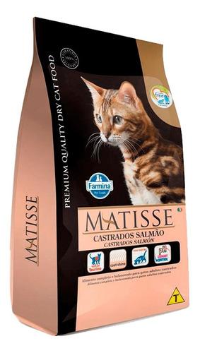 Matisse Gato Adulto Castrado Salmon 7,5 Kg + Regalo + Envio!