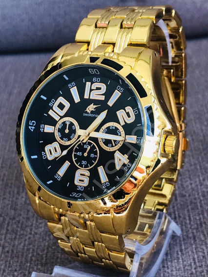 Relógio Masculino Potenzia Atacado Revenda + Caixa Presente