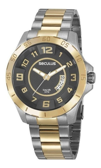 Relógio Pulso Masculino Esportivo Original Seculus