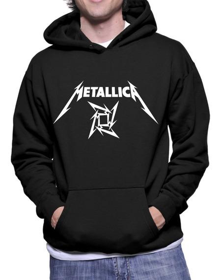 Moletom Canguru Metallica
