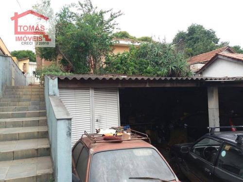 Imagem 1 de 10 de Casas Antigas Com Terreno Grande - Ca0653