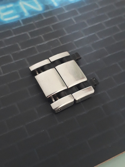 02 Elos Tissot T-race Pulseira De Aço