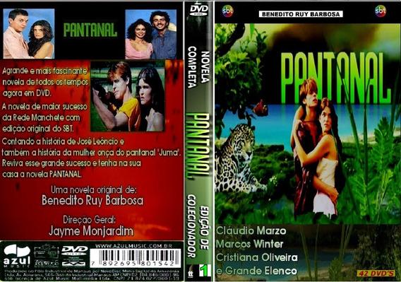 Dvd Box Só Novelas - Pantanal - 7 Boxes - 42 Dvds