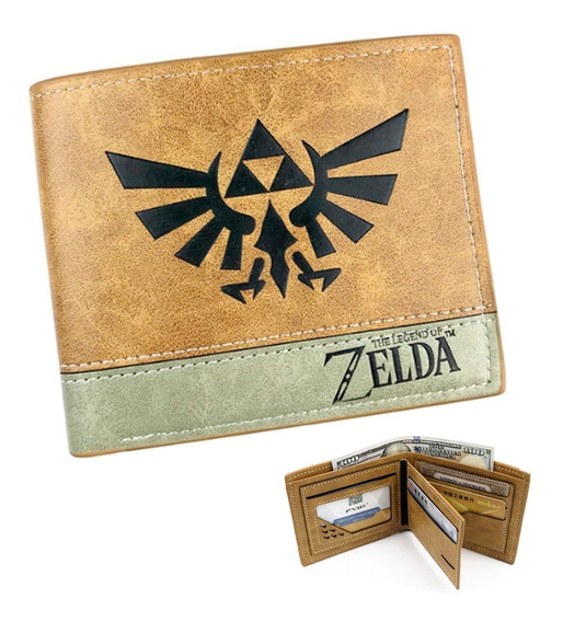 Cartera Zelda Envio Gratis Billetera Tarjetero Legend Of M2