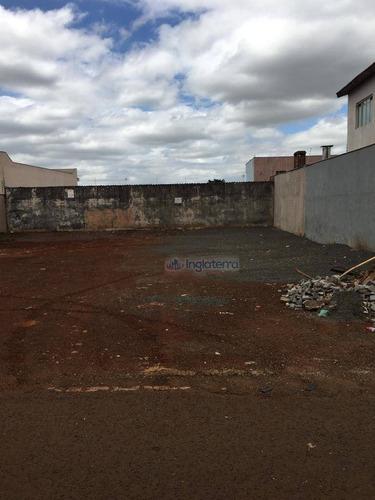 Terreno À Venda, 250 M² Por R$ 200.000,00 - Parque Leblon - Londrina/pr - Te0524