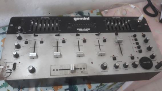 Mixer Dj Gemini Pmx 2400 - Sampler - Rarissimo
