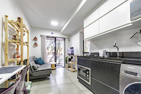 Apartamento Para Aluguel - Bacacheri, 1 Quarto, 32 - 893120159