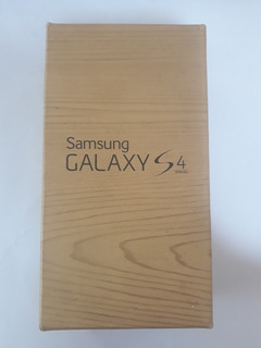 Caixa Original Samsung Galaxy S4 With 4g