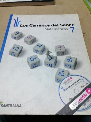 Los Caminos Matematicos 7 Ed Santillana