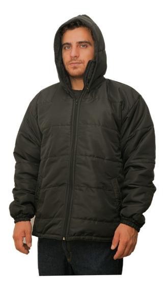 Jaqueta Masculina Capuz Remov. Inverno Plus Size - 48 A 60