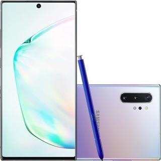 Samsung Galaxy Note 10+ Plus Prata 256gb 12gb Ram Anatel