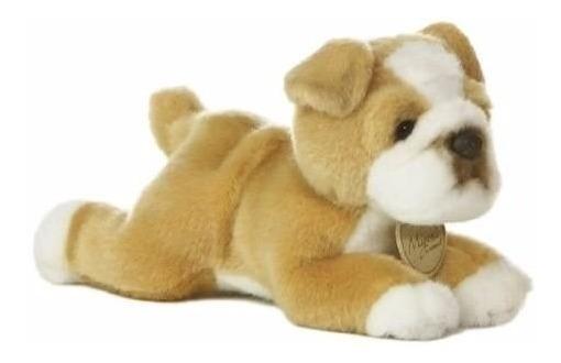 Cachorro Pelúcia Bulldog Série Miyoni 20cms - Frete Gratis
