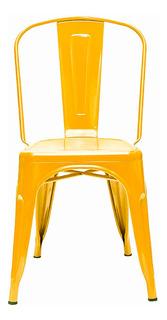 Silla Tolix Metalica Interior / Exterior Reforzada Varios Colores - Prestigio