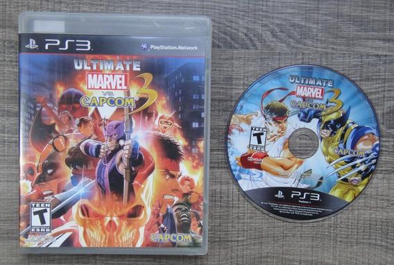 Ultimate Marvel Vs Capcom 3 Ps3 - Mídia Física Lko