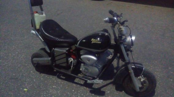 Minimoto Tipo Harley Chopper De 49cc