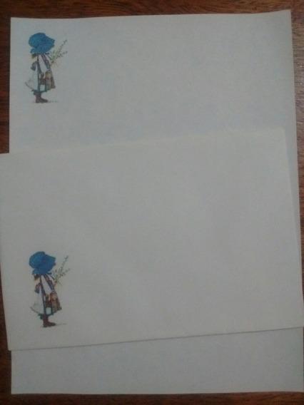 Conjunto De Papel De Carta Vintage