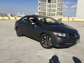 Honda Civic 2013 Exl Ex-l Navi Gps Automático Piel Qcs