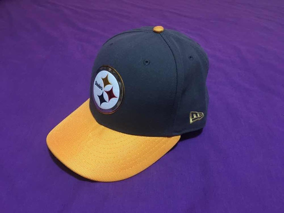 Gorra New Era Gold Collection Steelers 7 3/8
