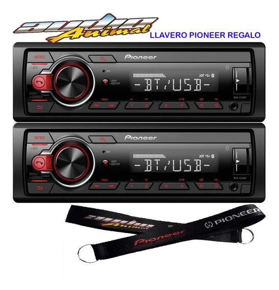 Estereo Pioneer Mvh 215 Bluetooth Usb Aux Nuevo No 295 2019