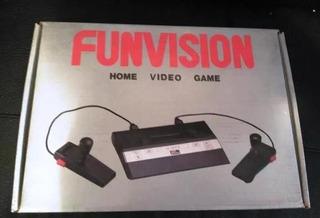 Consola De Juegos Funvision Clásica Compatibilidad Atari