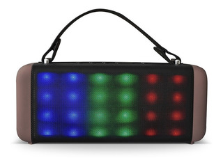 Parlante Bluetooth Rca Boombox 450w Con Luces Led Rspartybtm
