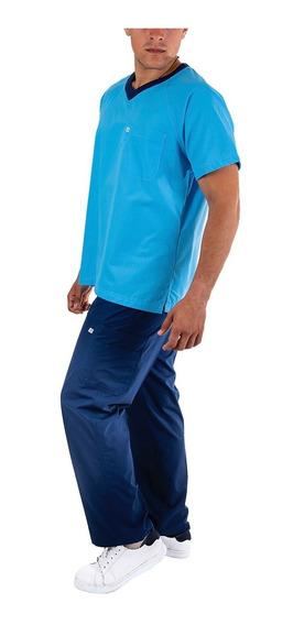 Uniforme Medico Quirúrgico, Conjunto, Hombre Con Gorro