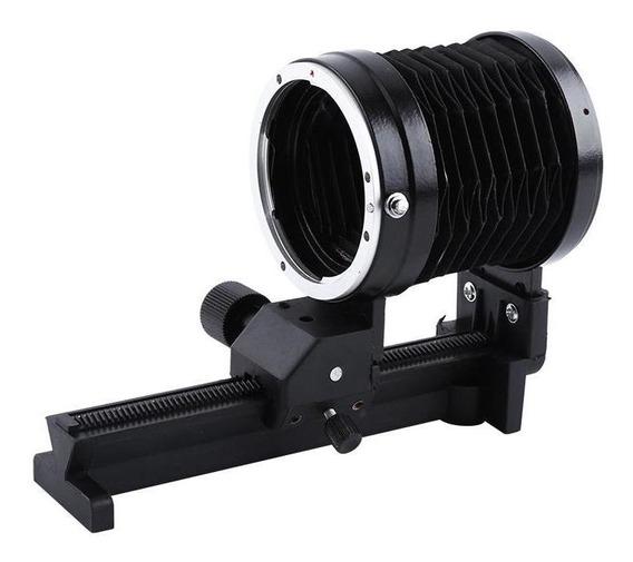 Macro Fole Lente Tripé Montagem Extensão Fole Para Canon Eos