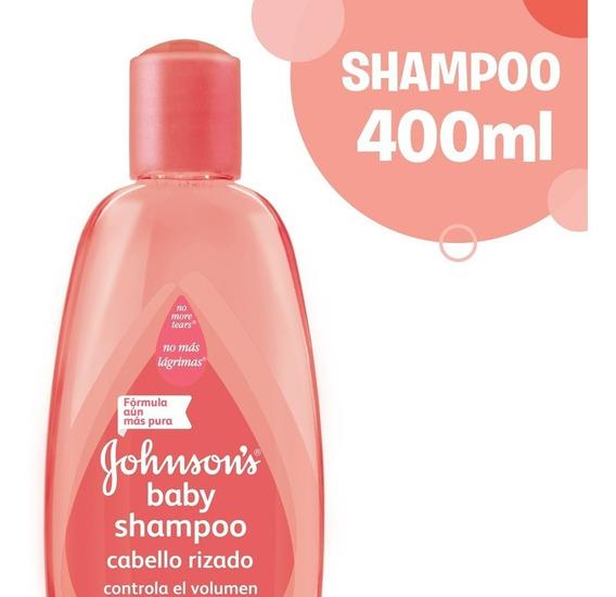 Shampoo Johnson´s Baby Rulos Hidratados 400ml