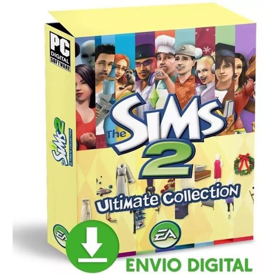The Sims 2 Pc Todas Expansões Total 2018 Mídia Digital