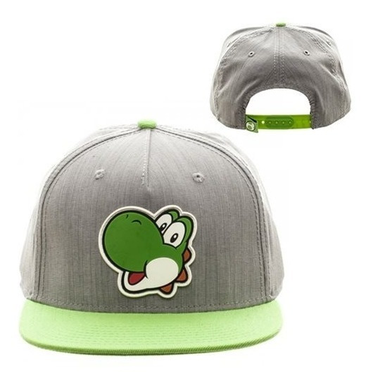 Snapback Gorro Jockey De Yoshi De Mario Bros Original