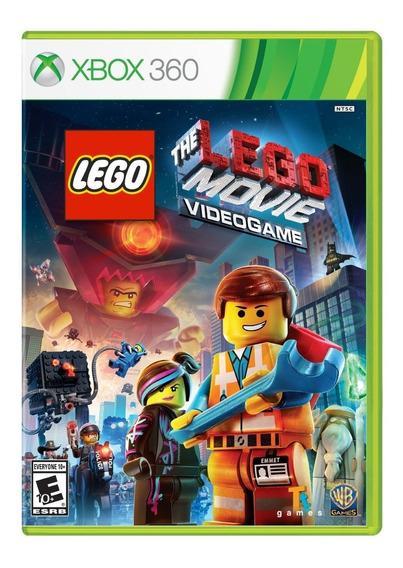 Jogo The Lego Movie Video Game Xbox 360 Original Lacrado