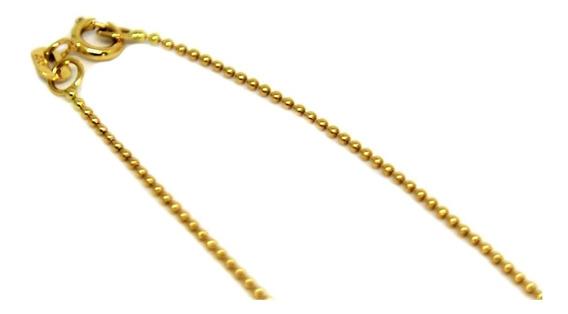 Cordão Bolinha Ouro18k
