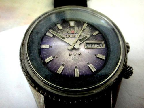 Relógio Orient Kd  Automático,calendário Duplo