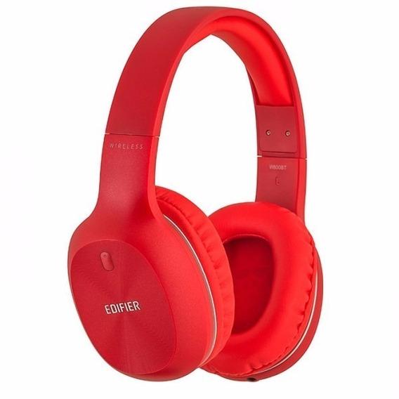Headphone Hi-fi W800bt Bluetooth Edifier Vermelho Promoção!