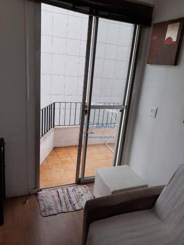 Imagem 1 de 12 de Apartamento Com 1 Dormitório, 40 M² - Venda Por R$ 510.000 Ou Aluguel Por R$ 1.881/mês - Bela Vista - São Paulo/sp - Ap64463