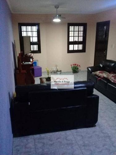 Imagem 1 de 17 de Sobrado À Venda, 125 M² Por R$ 584.000,00 - Jardim Santa Clara - Guarulhos/sp - So0228