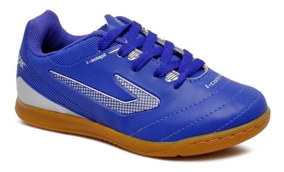 Tênis Futsal Infantil Topper Boleiro 2 4203486 Azul/prata