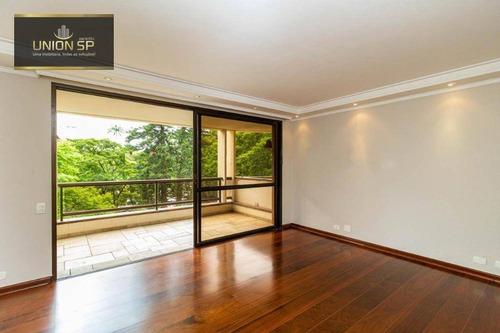 Imagem 1 de 9 de Apartamento Com 3 Dormitórios Para Alugar, 250 M² - Jardim Europa - São Paulo/sp - Ap50498