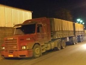 Scania 142 Caminhão Muito Bonito Diferenciado