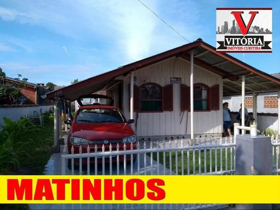 Casa Na Praia Com 3 Dormitórios À Venda, 324 M² Por R$ 160.000 - Balneário Solymar - Matinhos/pr - Ca0615
