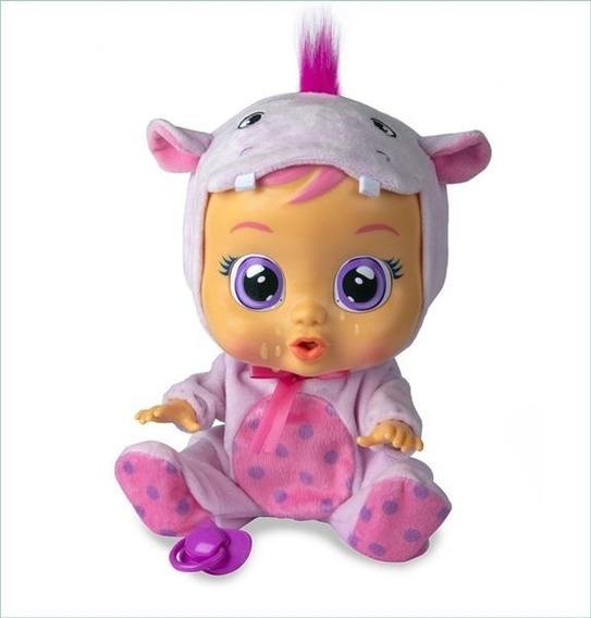 Boneca Cry Babies Hopie C/ Chupeta Chora Lágrimas - Br1030