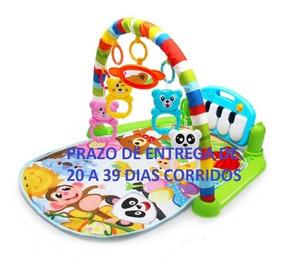 Tapete Interativo Atividades Bebê Mobile Toca Piano Musical