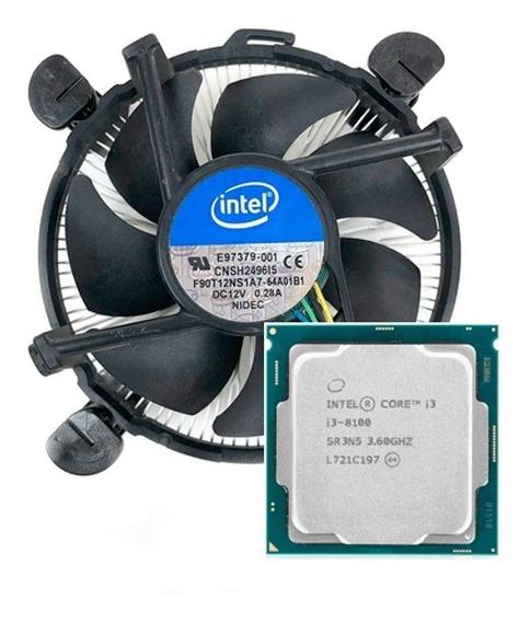 Processador Intel Core I3-8100 3.6ghz 6mb Lga1151 Coffeelake
